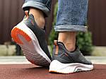 Мужские кроссовки Asics (серо-белые) 9621, фото 3