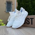 Женские кроссовки Adidas Yeezy Boost 350 V2 (белый) - 20165, фото 3