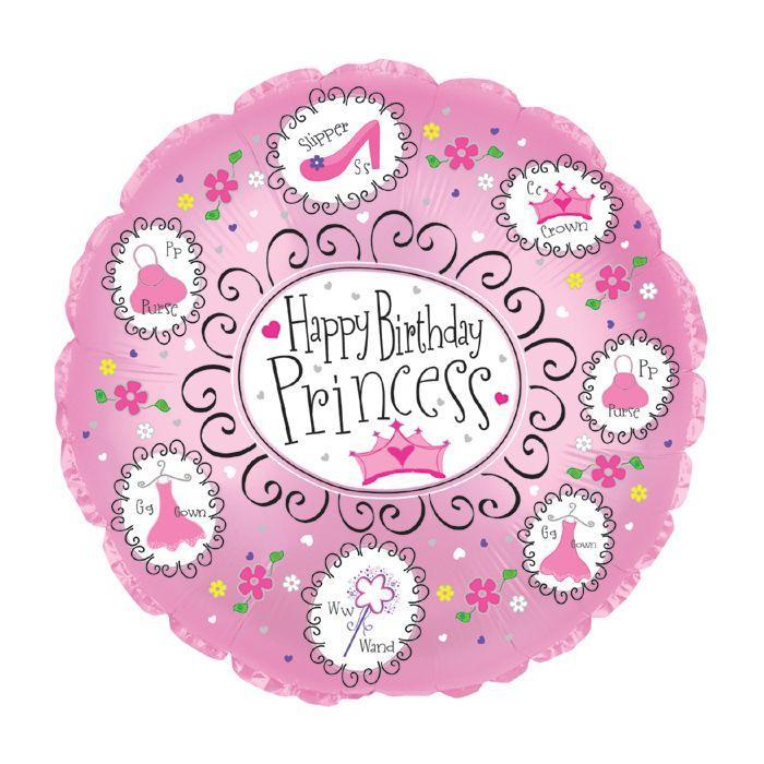 """CTI 18"""" С Днём Рождения Принцесса"""