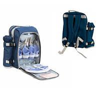 Набор для пикника KingCamp PICNIC BAG-4 (Blue)