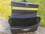 Термосумка - рюкзак для напоїв, пива з перегородкою і накладними кишенями, фото 3