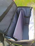 Термосумка - рюкзак для напоїв, пива з перегородкою і накладними кишенями, фото 4