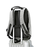Рюкзак антивор Bobby c защитой от карманников и с USB для зарядки серый, фото 3