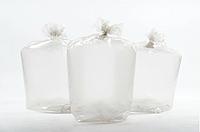 Мешки полиэтиленовые плотные для упаковки товара 65х100 см.70 мкм.30 кг. (25 шт/уп).