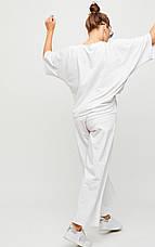 Женский костюм с брюками кюлотами, в расцветках, р.S-М, М-L, фото 3