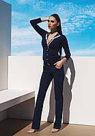 Синий пляжный пиджак Ora 700130/1 46(L) Синий Ora 700130/1