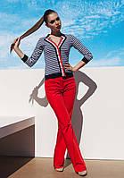 Пляжный пиджак в полоску Ora 700131/3 42(S) Полосатый Ora 700131/3
