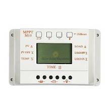 Контроллер заряда солнечных батарей MPPT белый
