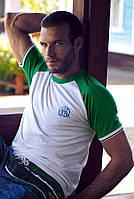 Белая мужская футболка David Man D3 3970 48(M) Белый David Man D3 3970