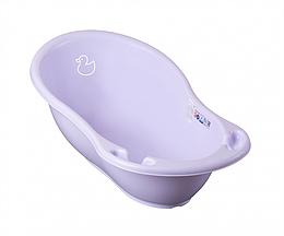 Детская ванночка для купания ребенка Tega Baby Уточка 86 см светло-фиолетовая