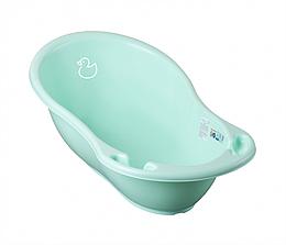 Детская ванночка для купания ребенка Tega Baby Уточка 86 см светло-зеленая