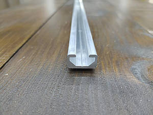 Станочный профиль алюминиевый 20х11 под болт М8 Анод