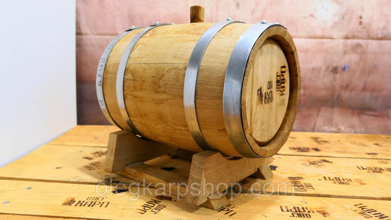 Бочка 5 л с виски, наполнена 10.10.2019