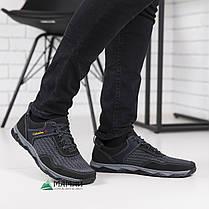 Кросівки чоловічі сітка сірі 41р, фото 3