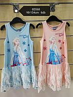 Платье на девочку оптом, Disney, 98-128 см,  № 02068