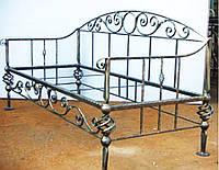 Кованый диван 99 ( подушки просч.отдельно)