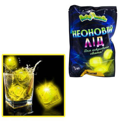 Неоновый лед, желтый PL111