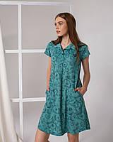 Женское летнее платье -туника Nicoletta 83589