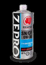 Масло моторне IDEMITSU ZEPRO Touring PRO 0W-30 (4літра, метал)