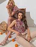 Шифонова блузка без рукавів ЛІТО, фото 3