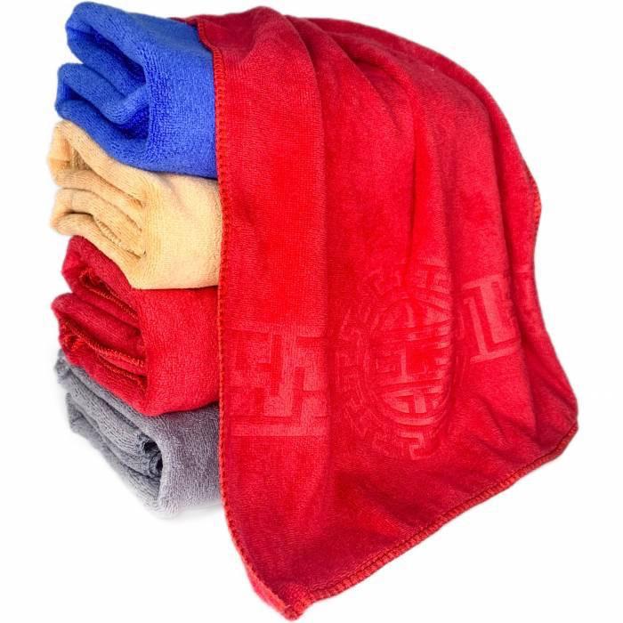 Рушник із мікрофібри, розмір 50х100 см, 65/75 грн (ціна за 1 шт +10 грн)