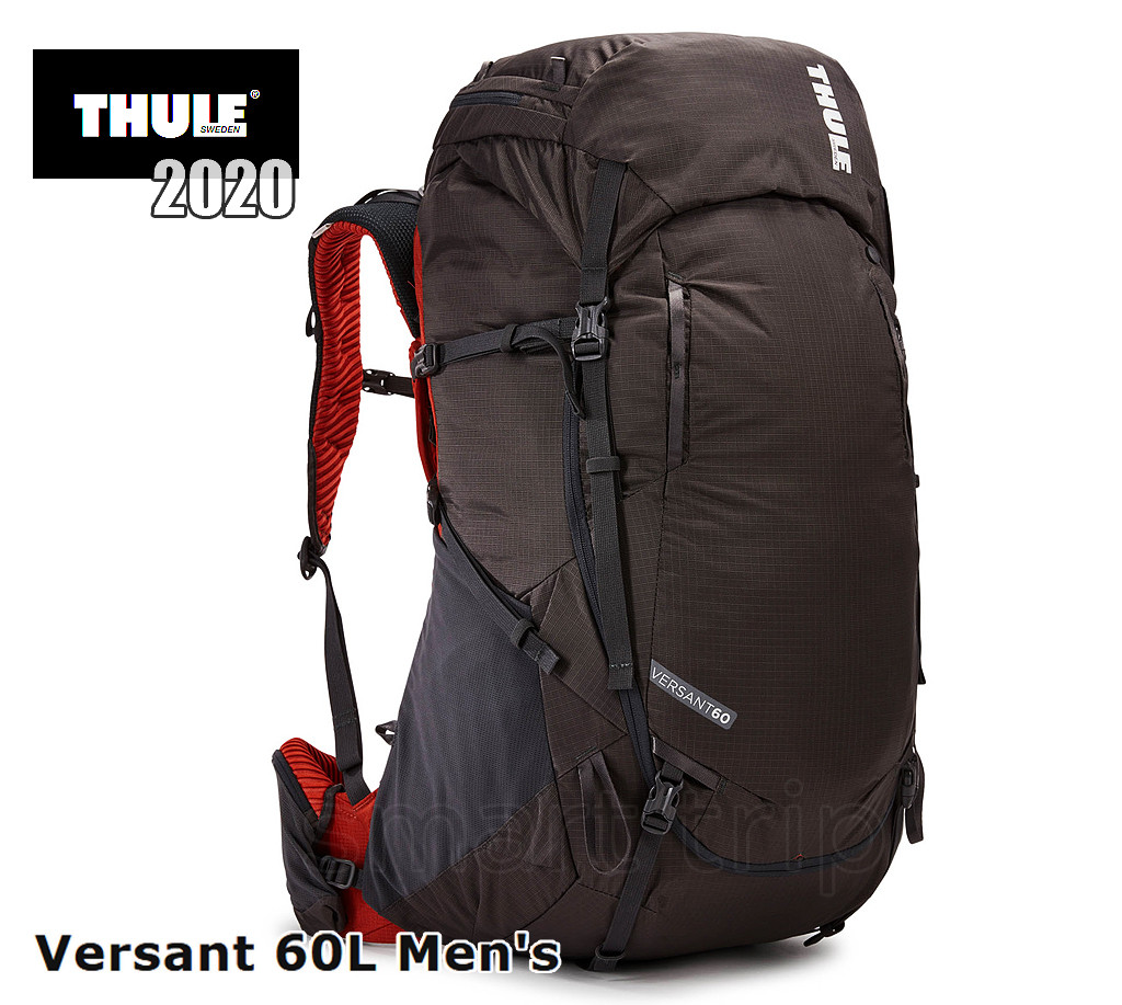 Туристический рюкзак Thule Versant 2.0 2020 мужской 60 L Asphalt темно-серый 3204105