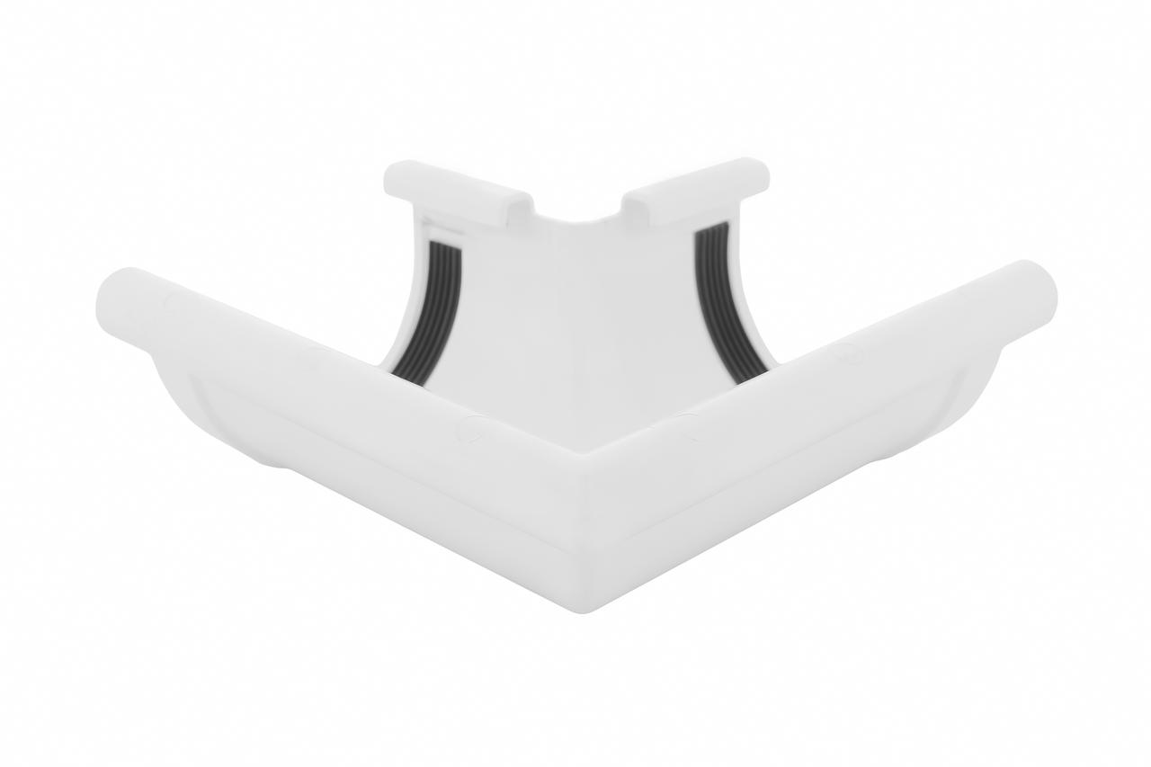 Угол желоба наружный белый 90° 90/75 Profil