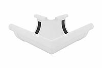 Угол желоба наружный белый 90° 90/75 Profil, фото 1