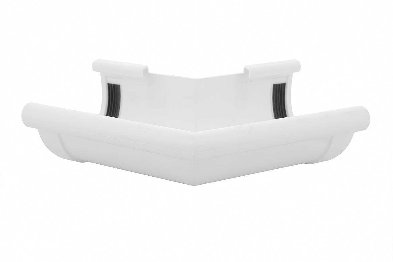 Угол желоба наружный белый 135° 90/75 Profil