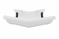 Угол желоба наружный белый 135° 90/75 Profil, фото 1