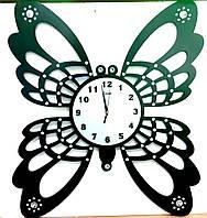 Часы декоративные настенные T-weid  Бабочка