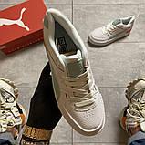 Женские кроссовки Puma Select Cali Sport White Blue, женские кроссовки пума селект кали спорт, фото 6