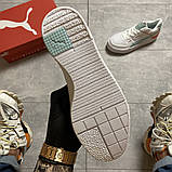 Женские кроссовки Puma Select Cali Sport White Blue, женские кроссовки пума селект кали спорт, фото 8
