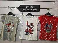 Футболки для девочек Minnie от Disney 98-128р.р