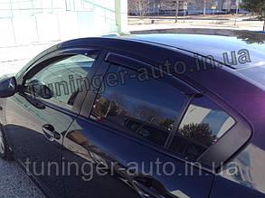 Ветровики, дефлекторы окон Mazda 3 sedan 2009-2012 (EGR)