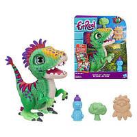 FurReal Friends Интерактивный динозавр Рекс FurReal Munchin Rex Hasbro Малыш Дино