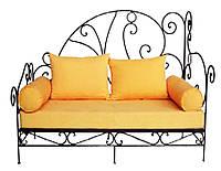 Кованый диван 11(подушки заказывать отдельно)