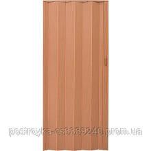 Двери гармошка Vinci Decor Бук  межкомнатные глухие