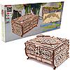 Деревянный конструктор Wood Trick 3d пазл Шкатулка, декорированная кристаллами Swarovski, 192 дет (4820195191033)