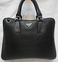 Мужская стильная кожаная сумка.