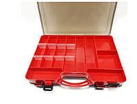 Коробка для воблеров , для карповых снастей, Ящик кейс рыболовный , Органайзер для рыбалки