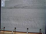Межкомнатная дверь  Мира ПВХ DeLuxe с матовым стеклом ,цвет бук пепельный, фото 2