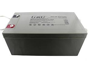 Гелевый аккумулятор Ukc Battery Gel 12V 250A Ukc 180285