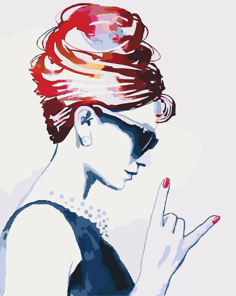Картина за номерами Ідейка Rock baby 40*50 см арт.KHO2689