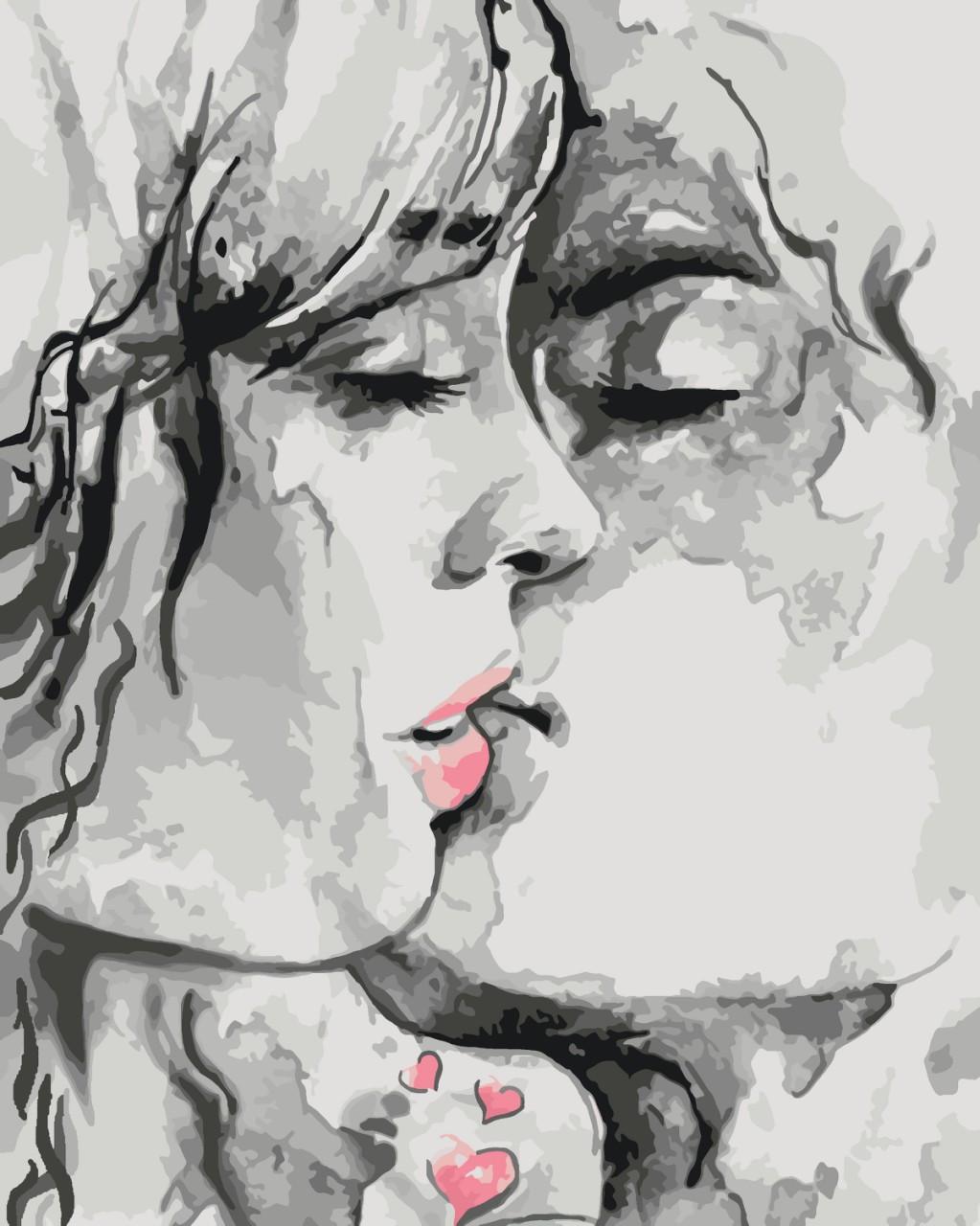 Картина по номерам Идейка Ты - мой космос… 40*50 см (без коробки) арт.KHO2692