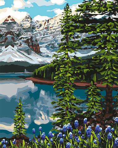 Картина за номерами Ідейка Ялина у горах 40*50 см арт.KHO2748, фото 2