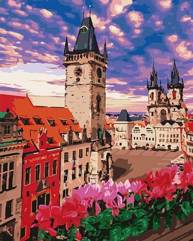 Картина по номерам Идейка Терраса в Праге 40*50 см (без коробки) арт.KHO3574, фото 2