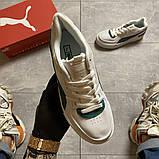 Женские кроссовки Puma Cali Sport Heritage White/Teal, женские кроссовки пума кали спорт, фото 6