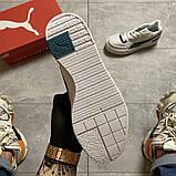 Женские кроссовки Puma Cali Sport Heritage White/Teal, женские кроссовки пума кали спорт, фото 8