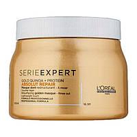 L'Oréal Professionnel Serie Expert Absolut Repair Gold Quinoa + Protein маска для регенерації для пошкодженого